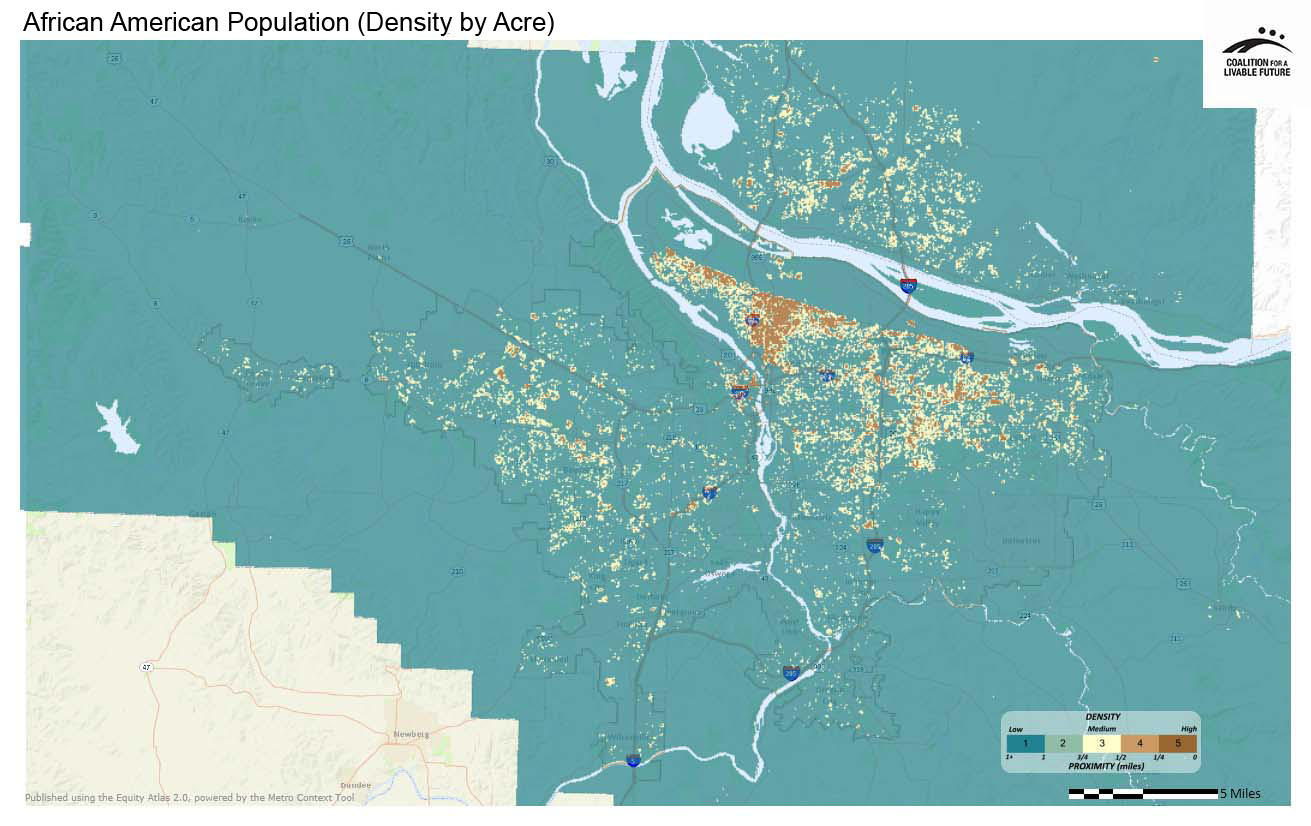 African American Population (Density by Acre)