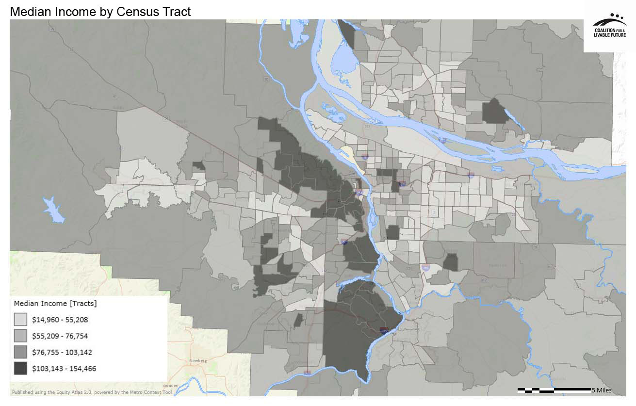 Median Income by Census Tract
