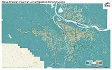 Native American or Alaskan Native Population (Density by Acre)